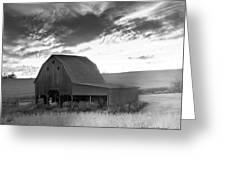Barn On Rt.41 Ross County Greeting Card