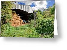Barn On Small Farm Greeting Card
