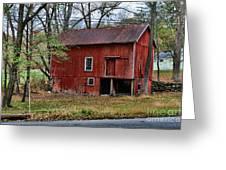 Barn - Seen Better Days Greeting Card