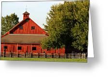 Barn South-3586 Greeting Card