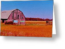 Barn Van Dyke Greeting Card