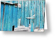 Barn Wall Greeting Card