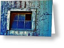 Barn Window 1 Greeting Card