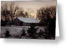 Barn Wood Greeting Card