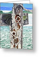 Barnacles And Rust Greeting Card