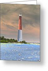 Barnegat Abstract Greeting Card
