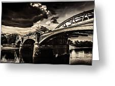 Barnes Rail Bridge Greeting Card