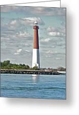 Barngat Lighthouse - Long Beach Island Nj Greeting Card
