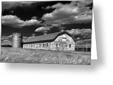 Barns Are Beautiful II Bw Greeting Card