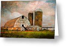 Barns In The Country Greeting Card