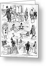 Barnum And Bailey, 1898 Greeting Card