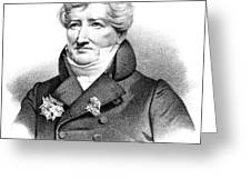 Baron Georges Cuvier (1769-1832) Greeting Card