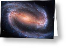 Barred Spiral Galaxy Ngc 1300 Greeting Card by Don Hammond
