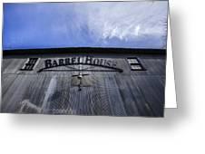 Barrel House One Greeting Card