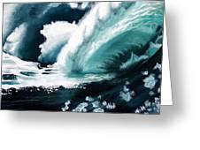 Barreling Storm Greeting Card
