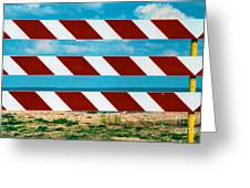 Barrier Greeting Card