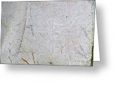 Barriles Stone Carving Greeting Card
