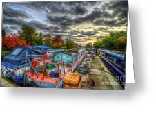 Barrow Boats Greeting Card