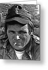 Barry Sadler The Green Berets Homage 1968 Tucson Arizona 1971-2008 Greeting Card