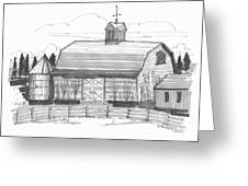 Barrytown Barn Greeting Card