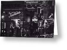 Bars On Broadway Nashville Greeting Card by Dan Sproul
