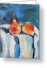 Bartlett Pears Greeting Card