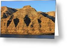 Basalt Group Layers Greeting Card