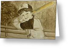 Baseball At It's Best Greeting Card
