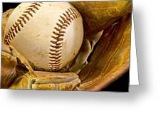 Baseball Has Been Very Good To Me Greeting Card by Don Schwartz