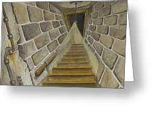 Basement Stairs Greeting Card