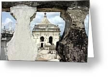 Basilica Catedral De La Asuncion 1747 Leon Nicaragua 003 Greeting Card