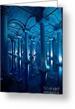 Basilica Cistern - Istanbul - Turkey Greeting Card