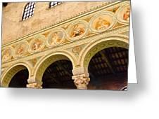 Basilica Di Sant' Apollinare Nuovo - Ravenna Italy Greeting Card