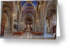 Basilica Di Santa Maria Sopra Minerva Greeting Card