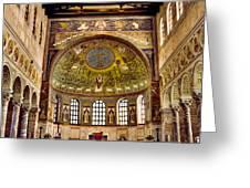 Basilica Di Sant'apollinare Nuovo - Ravenna Italy Greeting Card