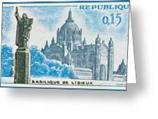 Basilica Lisieux Greeting Card