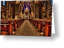 Basilica Of Saint Mary Greeting Card