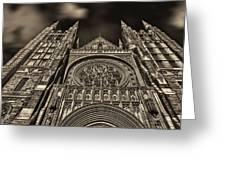Basilica Of Saints Peter And Paul  Greeting Card