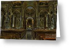 Basilica Of St. Josaphat Greeting Card