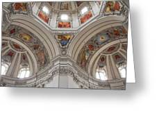Basilica Of St. Peter In Salzburg Greeting Card