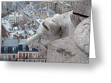 Basilica Of The Sacre Cour Greeting Card