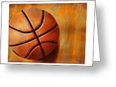 Basket Ball Greeting Card by Craig Tinder