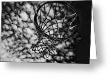 Basketball Heaven Greeting Card
