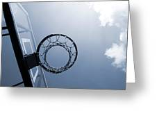 Basketball Hoop Greeting Card