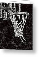 Basketball Years Greeting Card by Karol Livote