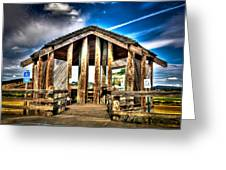 Baskett Slough Greeting Card by Jimmy Story