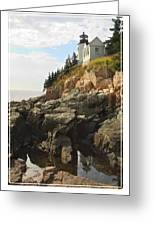 Bass Harbor Head Lighthouse Greeting Card
