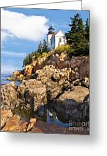 Bass Harbor Lighthouse Greeting Card
