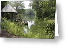 Bass Pond Biltmore Estate Greeting Card