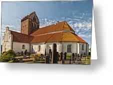 Bastad Church Greeting Card